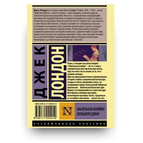 kniga Malenkaya khozyayka Bolshogo doma cover 2