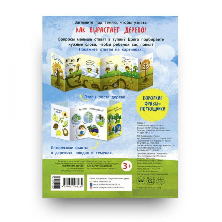 Книга Как вырастает дерево Ранок обложка 2