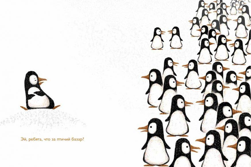 libro in russo Problemi pinguini illustrazioni 2