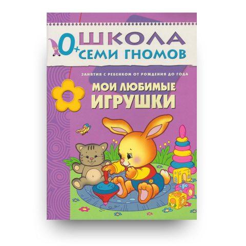 книга-Мои любимые игрушки. Первый год обучения.Школа семи гномов-купить в Италии