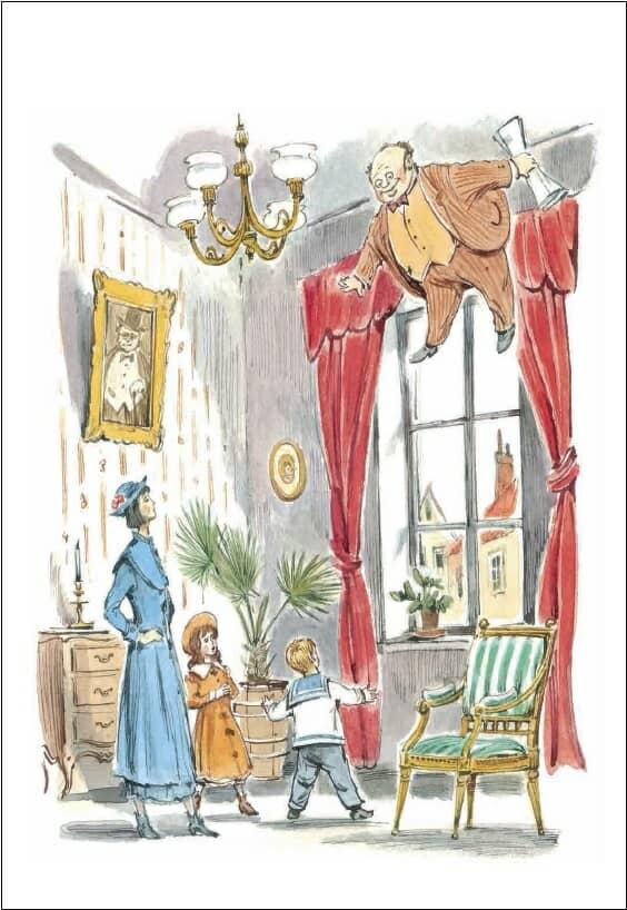 книга Мэри Поппинс Памелы Трэверс купить в Италии иллюстрации 4