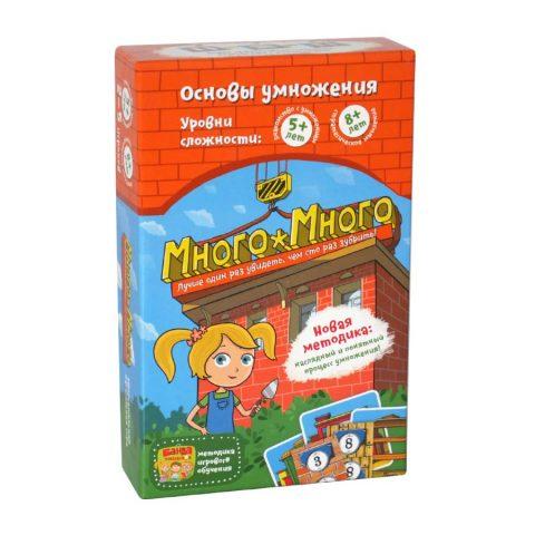 Банда умников-Обучающая игра «Много-Много»-купить в Италии