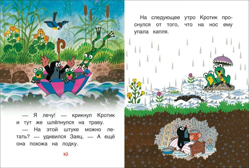 Libro La piccola talpa in Russo