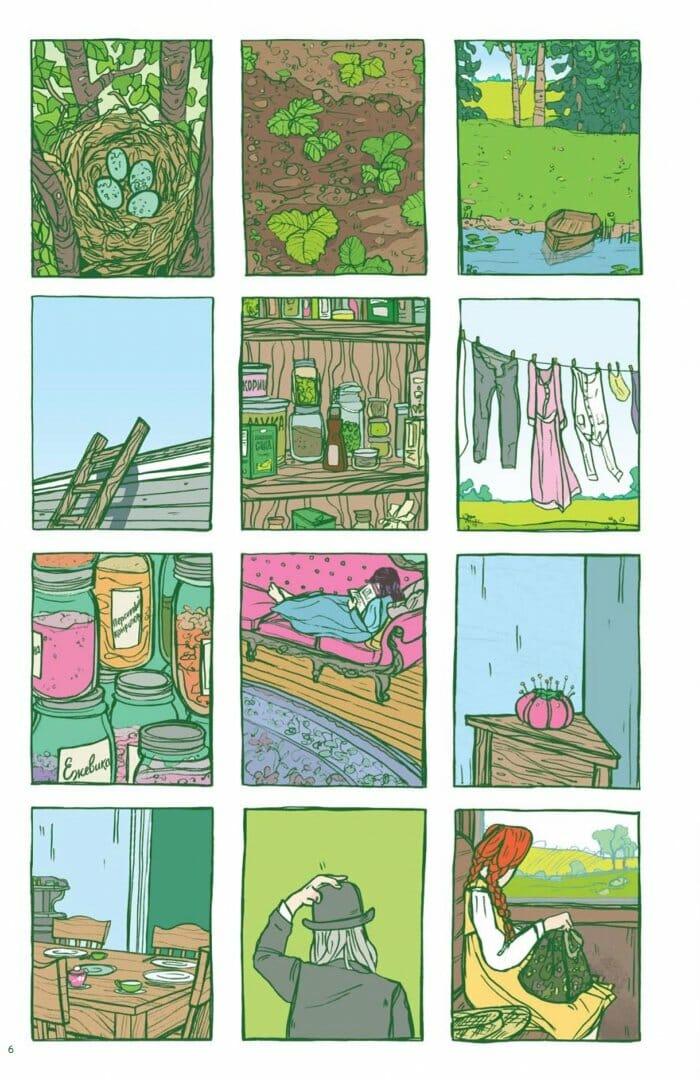 Анна с фермы «Зеленые крыши» иллюстрации 2