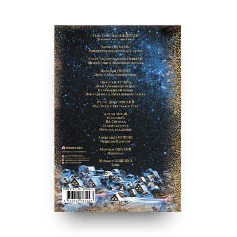 Книга Рассказы в Новогоднюю ночь подарочное издание