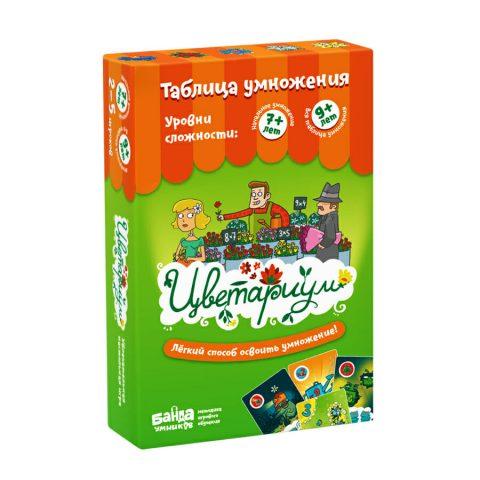 Обучающая игра «Цветариум» Банда Умников купить в Италии