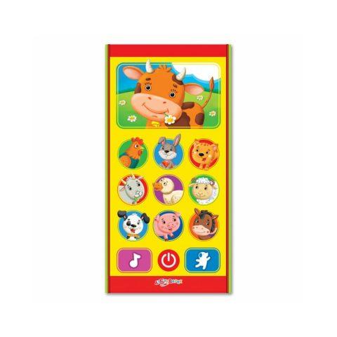 Музыкальная игрушка Ферма - Азбукварик