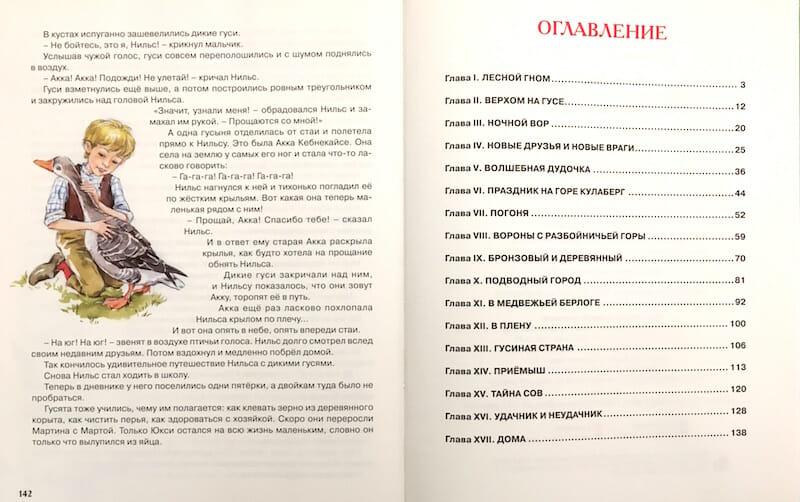 Книга Сельмы Лагерлеф Чудесное путешествие Нильса с дикими гусями иллюстрации 4