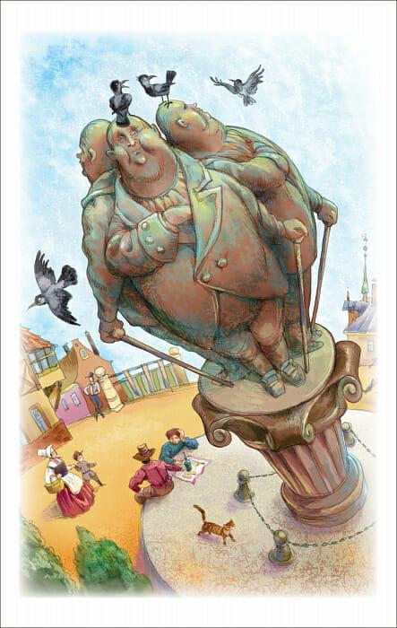 Книга Три толстяка Юрий Олеша иллюстрации 3