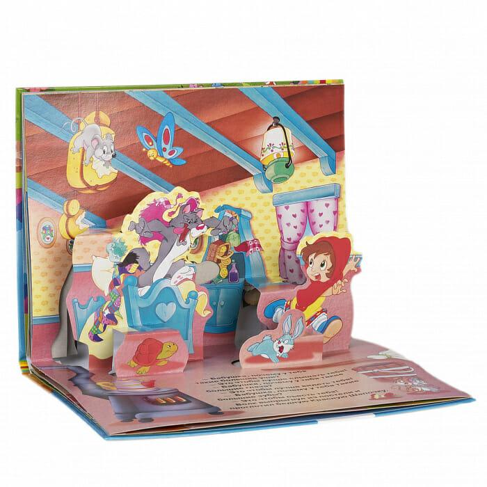 """Книга серии """"Книжка-панорамка"""" Красная Шапочка Шарля Перро иллюстрации 3"""