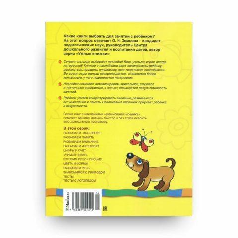 Книга Развиваем память. 3-4 года. Дошкольная мозаика. Ольга Земцова обложка 2