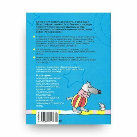 Книга Ольги Земцовой Свойства предметов. 5-6 лет. Дошкольная мозаика обложка 2