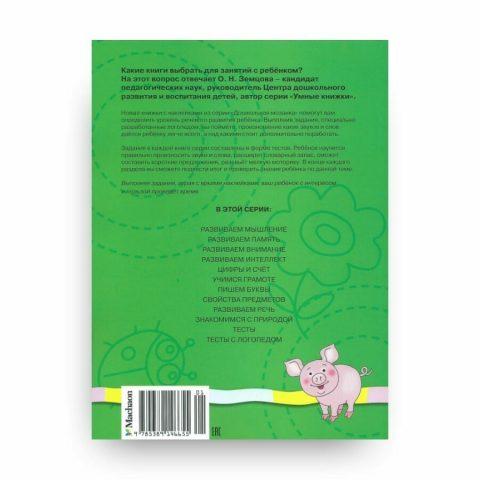 Книга Тесты с логопедом. 4-5 лет. Дошкольная мозаика. Ольга Земцова обложка 2