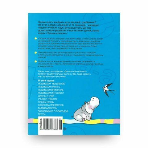 Книга Ольги Земцовой Учимся грамоте. 5-6 лет. Дошкольная мозаика обложка 2