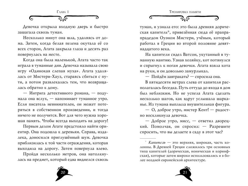 Книга Стива Стивенсона Агата Мистери. Похищение в Ватикане иллюстрации 1