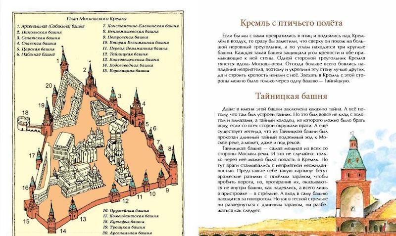 книга О чем молчат башни Кремля?  иллюстрации 1