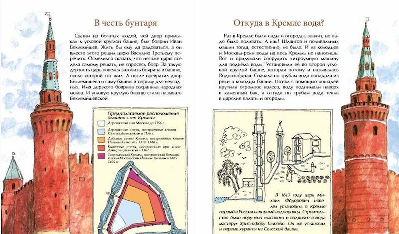 книга О чем молчат башни Кремля?  иллюстрации 2