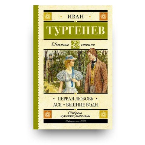 libro di Ivan Turgenev in lingua Russa
