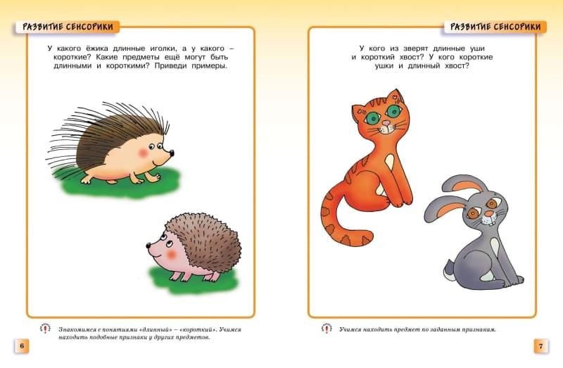 Книга Ольги Земцовой Развивающие тесты для детей 2-3 лет. Серия Умные книжки иллюстрации 1
