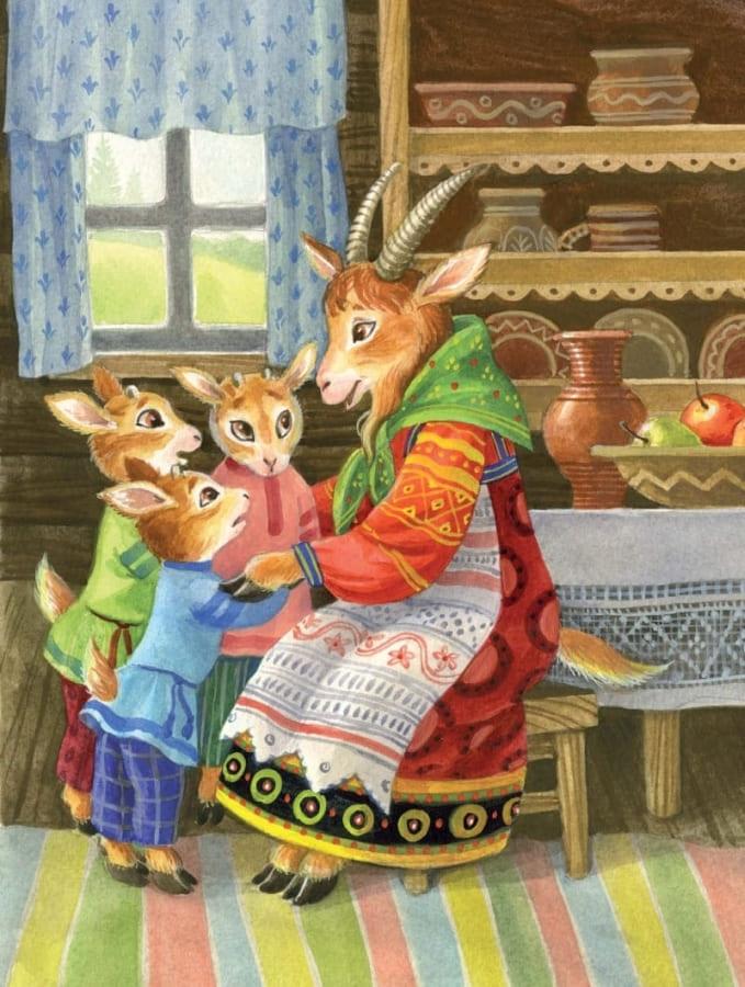 Книга Русские сказки для малышей разворот 2